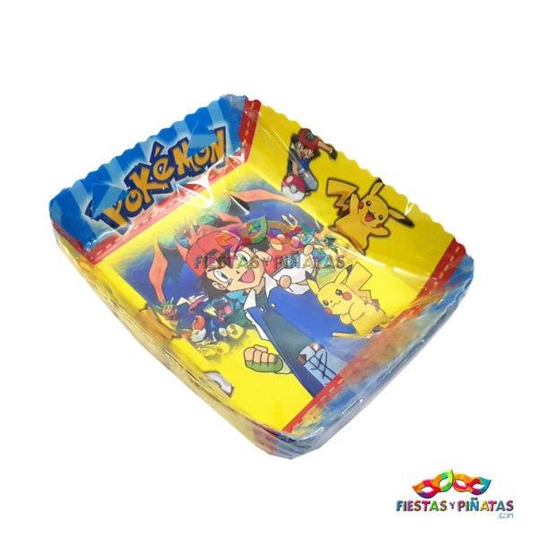 Bandeja Plato Torta cumpleaños de para niños   Decoración temática Pokemon para cumpleaños infantil fiestas y piñatas Bogotá